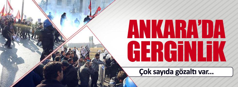 Ankara Garı önünde gerginlik