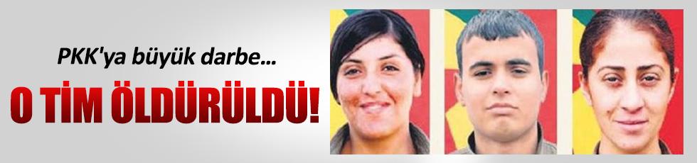 PKK'ya büyük darbe o tim öldürüldü!