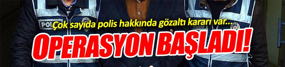 İstanbul'da operasyon, gözaltılar var