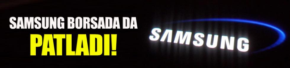 Samsung hisseleri çakıldı!