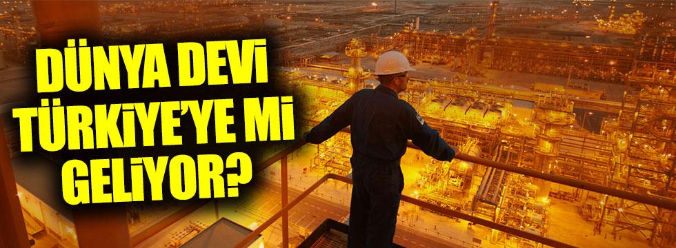 Aramco, Türkiye'de yatırım için ön görüşmelerde bulunuyor