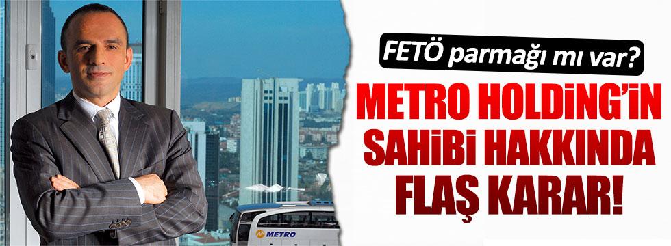Metro Holding'in sahibi Galip Öztürk yeniden yargılanacak