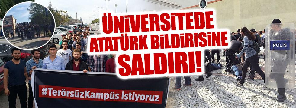 Kocaeli Üniversitesi'nde Kolektif adı altında PKK saldırısı!