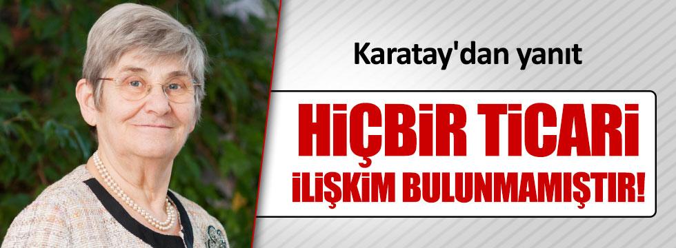 Prof. Dr. Canan Karatay'dan, Bakan'a yanıt