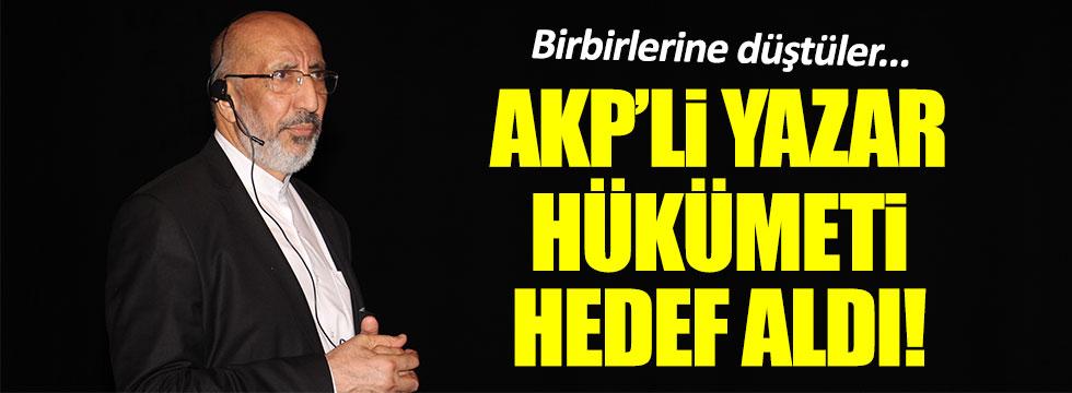 Abdurrahman Dilipak hükümete salladı