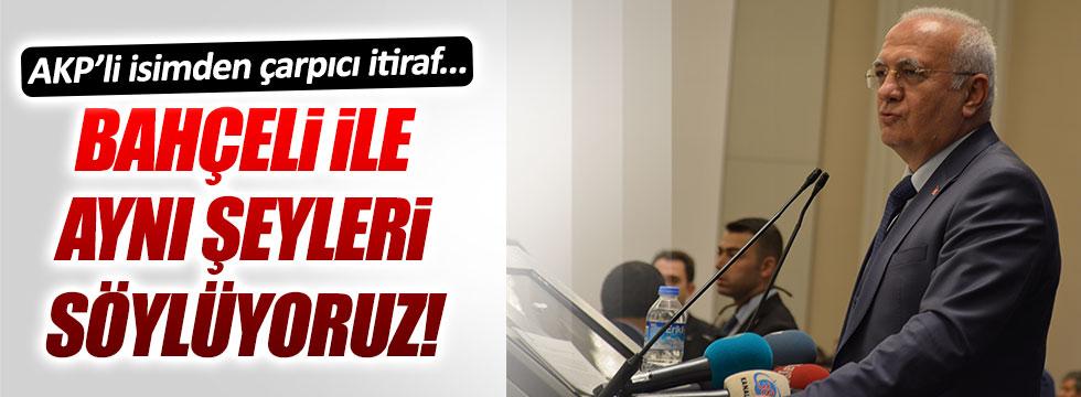 AKP'li Elitaş: Bahçeli'nin çağrısıyla başkanlık sistemini Meclis'e getireceğiz