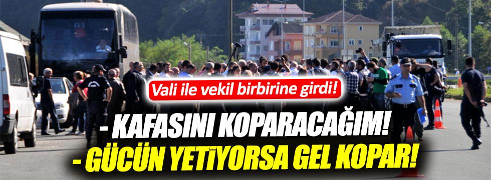 """Trabzon Valisi ile CHP'li isimden """"Cerrattepe"""" kavgası"""