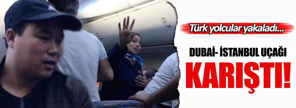 Dubai- İstanbul uçağında şoke eden olay!