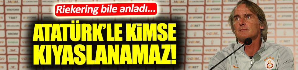 Riekering'ten Atatürk açıklaması