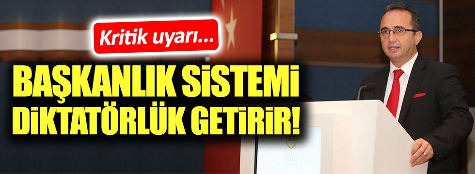 CHP'li Tezcan: Diktatörlüğe hayır diyeceğiz