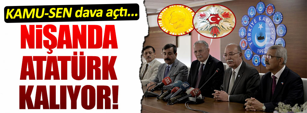 Danıştay'dan devlet nişanlarında Atatürk kararı