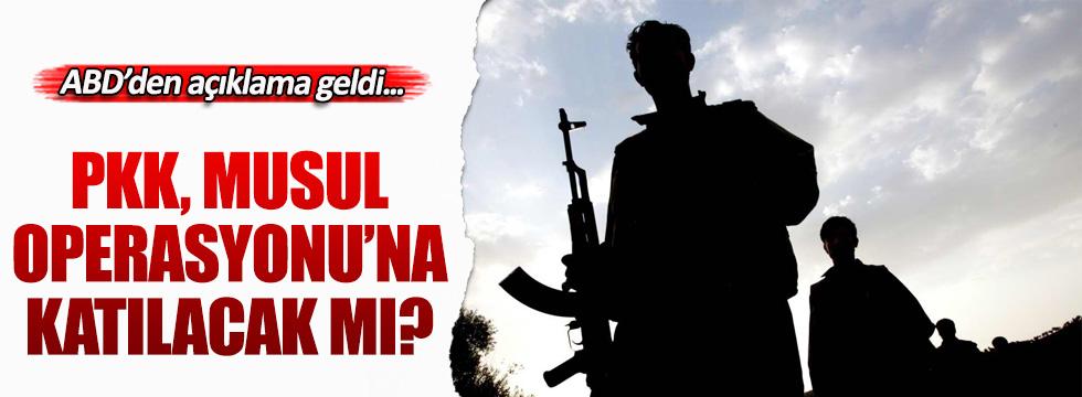 PKK, Musul Operasyonu'na katılacak mı?