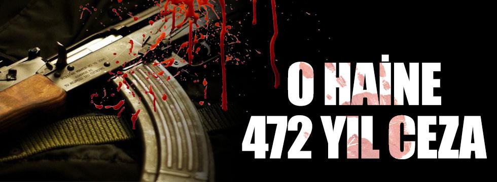 PKK'nın Sur bombacısına 472 yıl hapis istemi