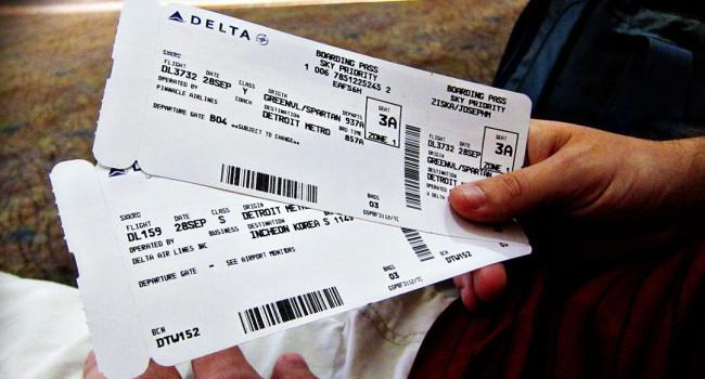 Uçak biletinizi sosyal medyada paylaşmayın