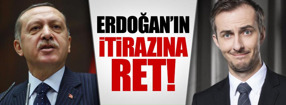 Alman mahkemesinden Erdoğan'a ret!