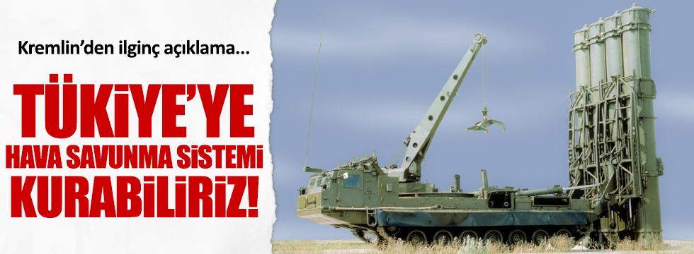 Kremlin'den hava savunma sistemi açıklaması