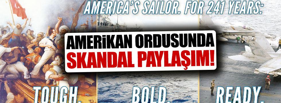 ABD'den skandal paylaşım