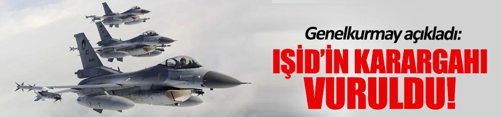 TSK: IŞİD'in karargahı vuruldu