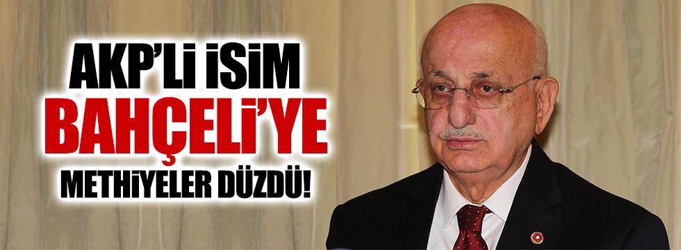 AKP'li İsmail Kahraman'dan Bahçeli'ye övgü