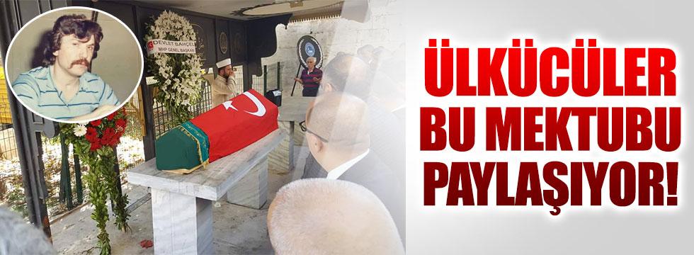 Ülkücü gazi Ahmet Kaleli'den duygulandıran mektup