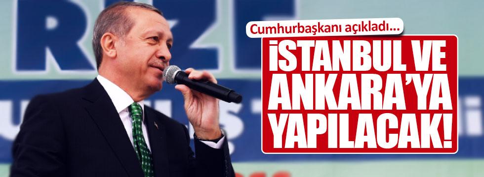 İstanbul ve Ankara'ya anıt yapılacak