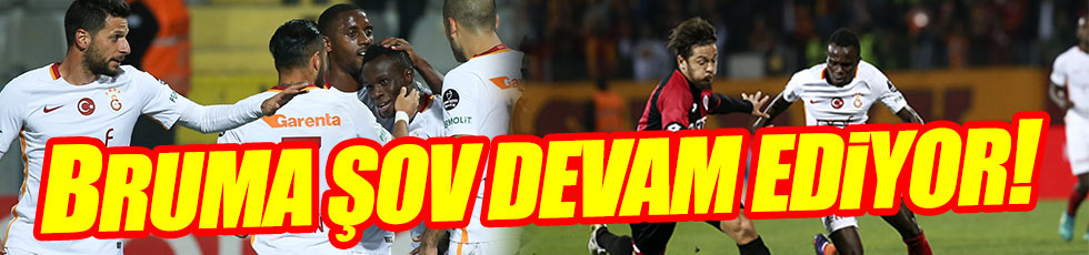 Galatasaray'dan tek kurşun