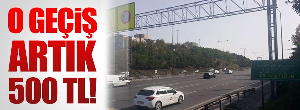 FSM'den kaçak geçişin cezası '500 lira'