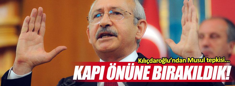 Kılıçdaroğlu'ndan, Musul tepkisi