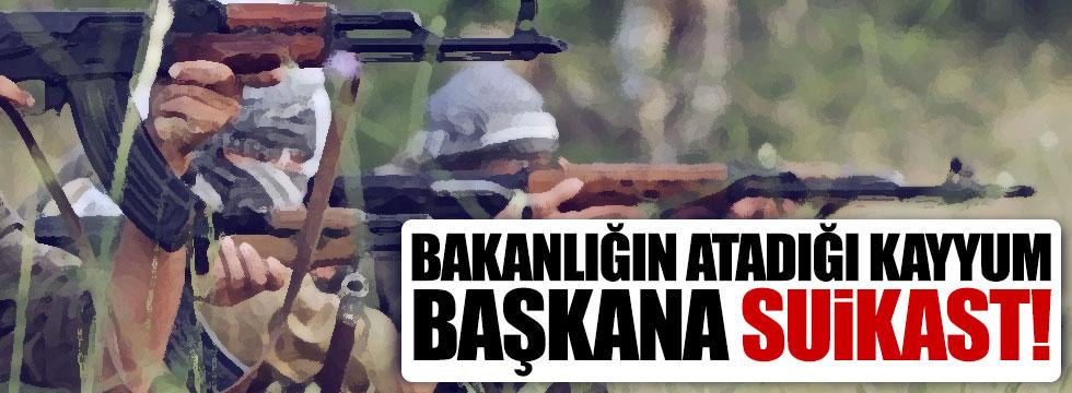 Belediye Meclis üyesi muhtara PKK saldırısı