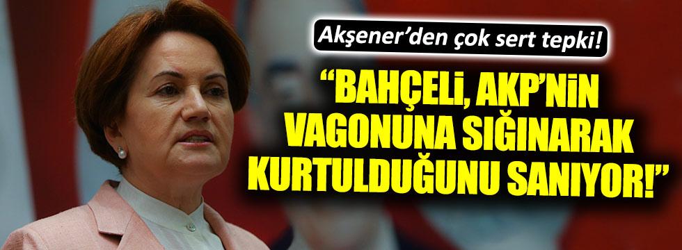 Akşener'den Bahçeli'ye çok sert Başkanlık tepkisi!
