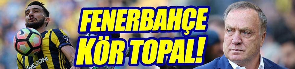 Fenerbahçe kendi evinde ağır yaralı