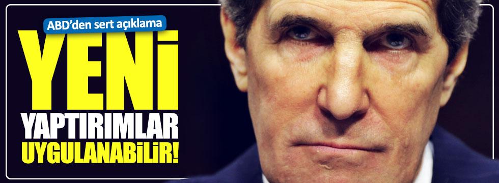 Kerry: Rusya'ya yeni yaptırımlar uygulanabilir