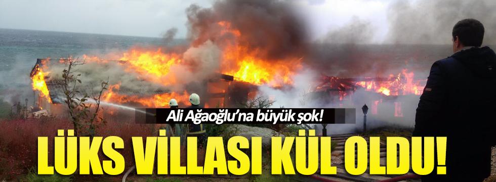 Ali Ağaoğlu'nun villası yandı!