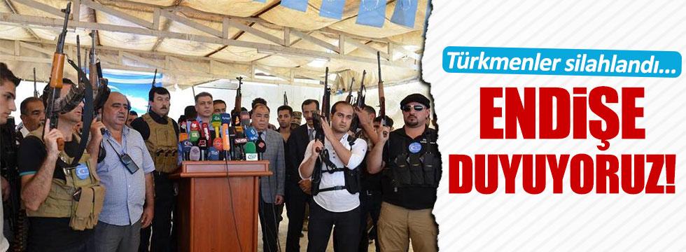 Türkmenler silahlandı