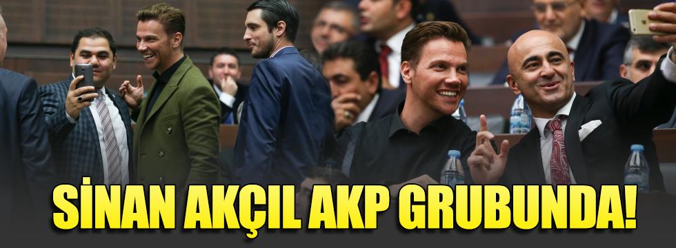 AKP grup toplantısına Sinan Akçıl da katıldı