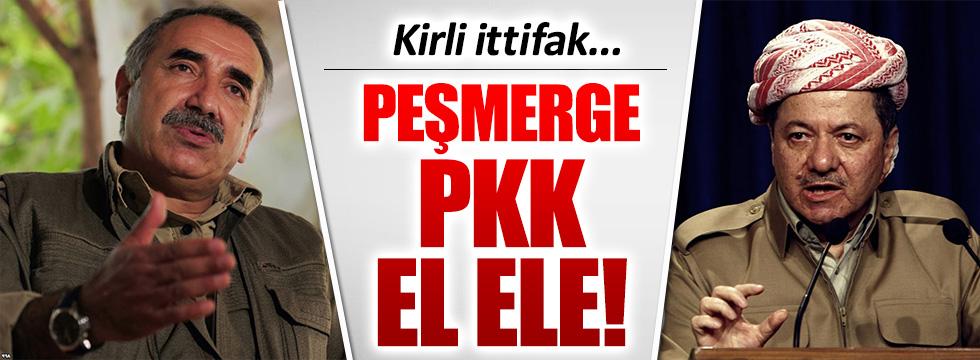 Peşmerge Barzani ile PKK arasında kirli ittifak