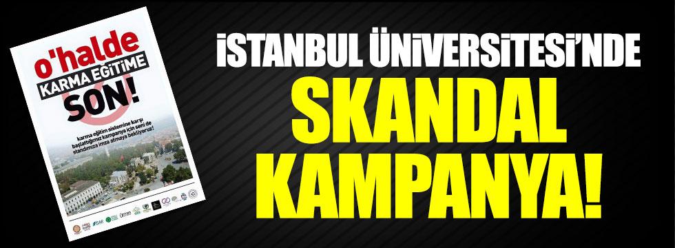 İstanbul Üniversitesi'nde 'karma eğitim' skandalı