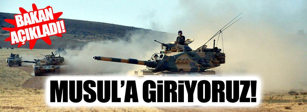 Türkiye, Musul operasyonuna katılıyor