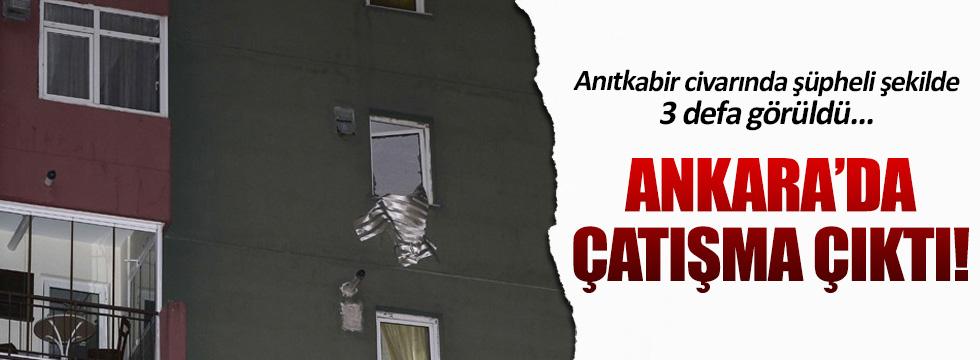 Ankara'da canlı bomba operasyonu