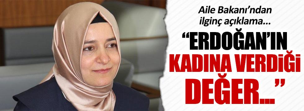 Fatma Betül Sayan'dan ilginç Erdoğan yorumu
