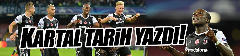 Beşiktaş İtalya'da tarih yazdı