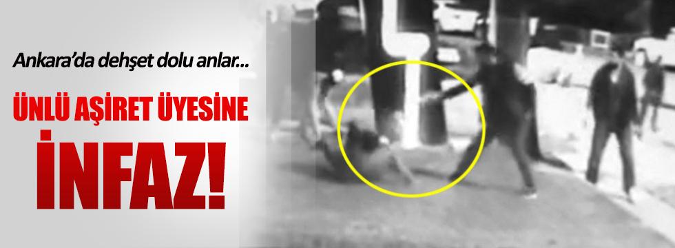 Ankara'da ünlü aşiretin üyesine infaz!