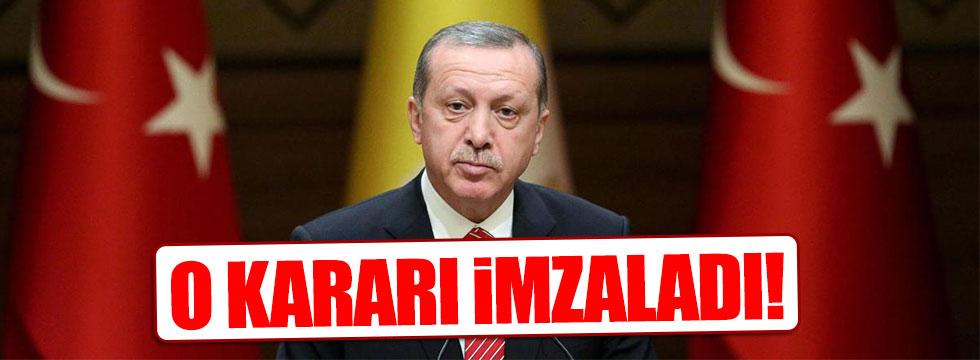 Erdoğan, 3 ülke ile yapılan işbirliği içeren kararı imzaladı