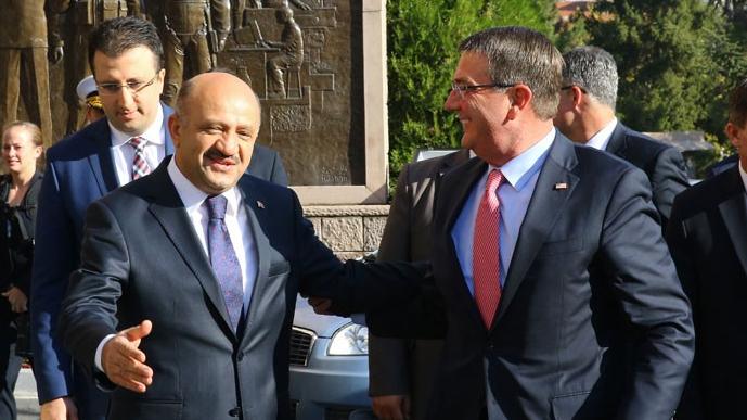 ABD'li bakan Ankara'da