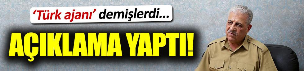 Türk ajanı olduğu iddia edilen komutandan açıklama