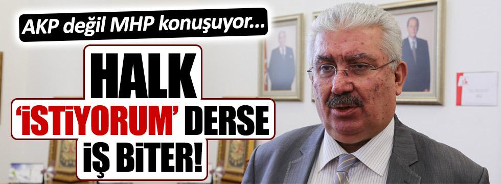 MHP'li isimden başkanlık açıklaması