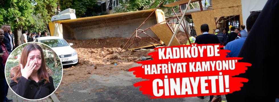 Kadıköy'de yol çöktü! 1 işçi öldü