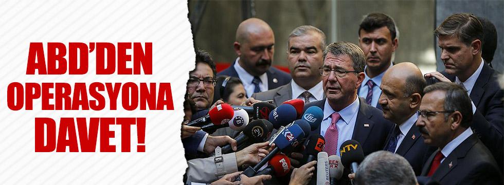 ABD'den Türkiye'ye operasyon davetiyesi