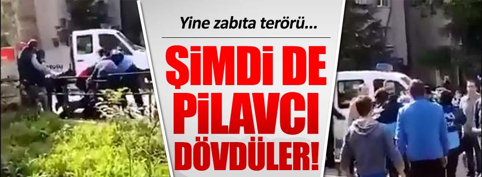 Kadıköy'de zabıtalardan pilavcıya meydan dayağı