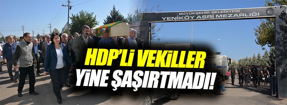 HDP'li vekil terörist cezanesinde
